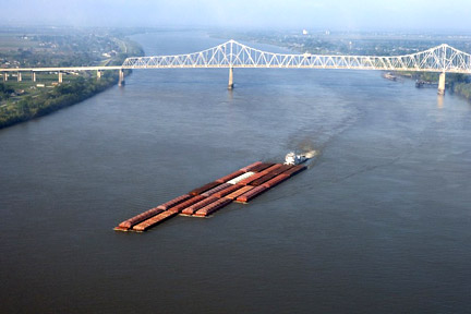 Accidents in Shreveport, LA can have many causes - whether a car accident, medical malpractice case, or an accident related to maritime commerce on the Mississippi River or the Gulf. For example, boats, tugs, and other vessels on the Mississippi, like the one here, can be invovled in collisions where injuries and property damage result. Call a Shreveport personal injury lawyer today to represent you in your claims.
